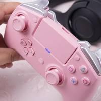 雷蛇Razer Raiju飓兽竞技粉晶版PS4手柄使用总结(连接|做工|手感|游戏)