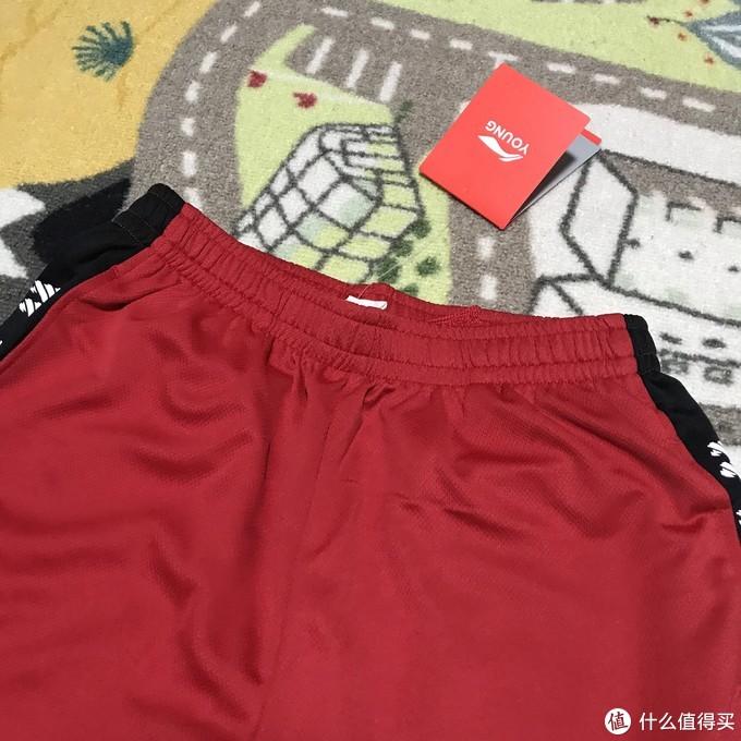 李宁2019夏季新款韦德系列儿童运动短裤