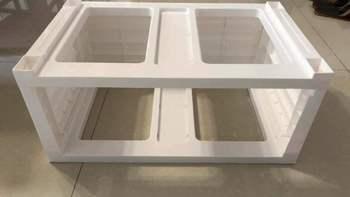 可优比(KUB) 儿童五斗塑料整理柜组装过程(卡扣|抽屉)