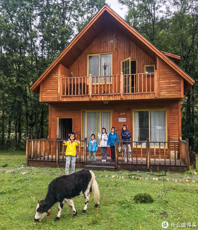 很原生态的木屋