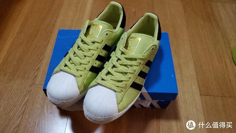 Adidas superstar boost 贝壳头运动鞋