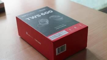 HIFIMAN TWS600耳机外观展示(接口|线材|随身盒|耳塞套|包装)