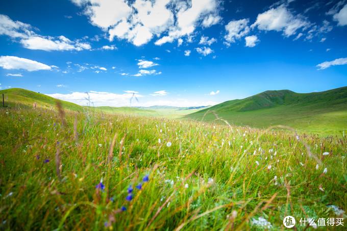 山上的景色也很美