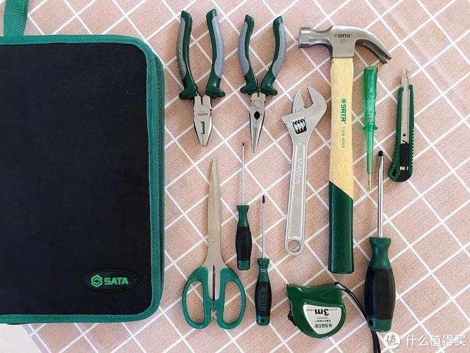 维修工具用时找不到?这一套世达工具箱包含12件,足够用上十年了