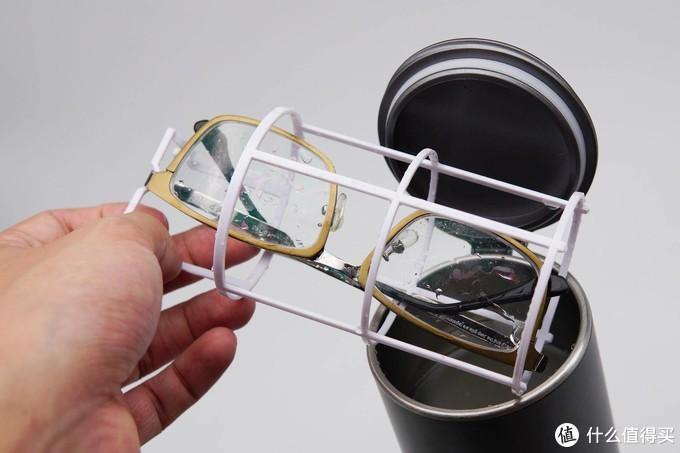 给眼镜洗澡 洁盟视洁杯使用体验