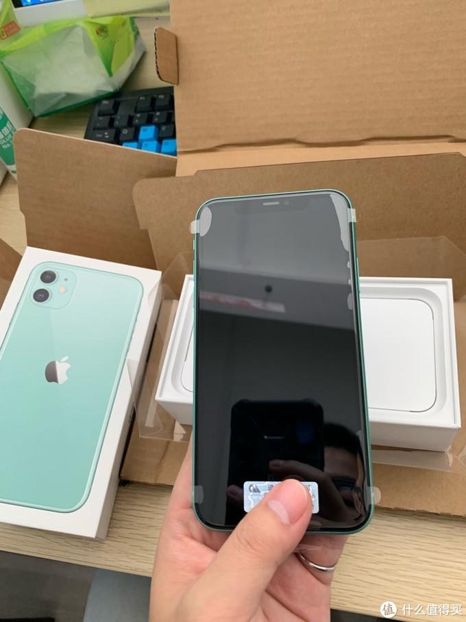 Apple 官网热腾腾的iPhone 11 原谅绿