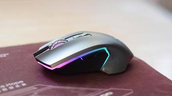 雷柏推出V20pro双模版鼠标外观展示(LOGO|左右键|滚轮|脚贴|按钮)