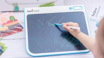 TintZone绘特美彩色液晶儿童画板使用如何(色彩|绘画卡|图案|按钮|创作形式)