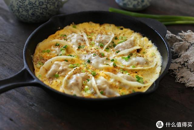 早餐不知道吃什么,鸡蛋和饺子更配,教你一招别提多美味了