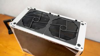 乔思伯A4 ITX机箱外观展示(开机键|指示灯|挡板|插口)