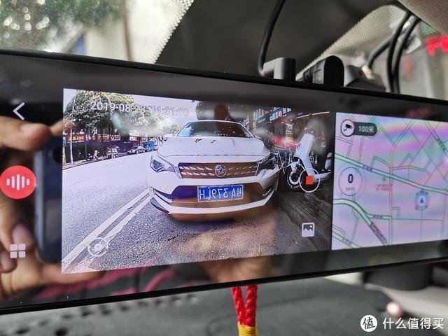 前摄后录,让行车安全再次提升:70迈智能后视镜后摄像头体验