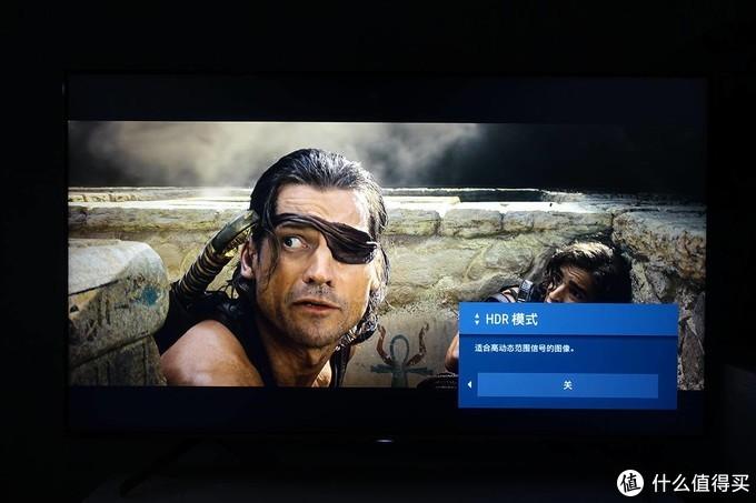 "HDR模式关闭 索尼U8G图像模式设置为""标准"""