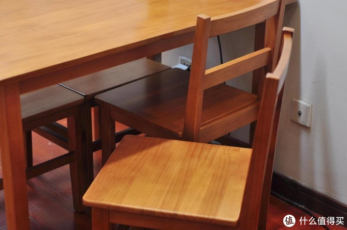 幸福无非四件事,8H Lark实木餐桌椅使用体验
