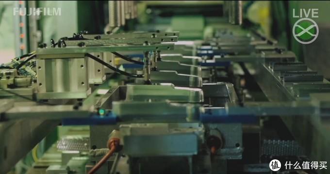 难得一见的富士工厂内部
