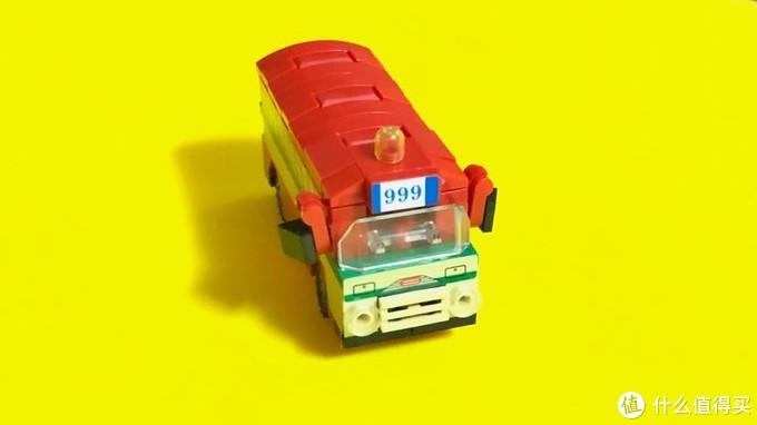 积木家族又添了一辆LOZ小汽车