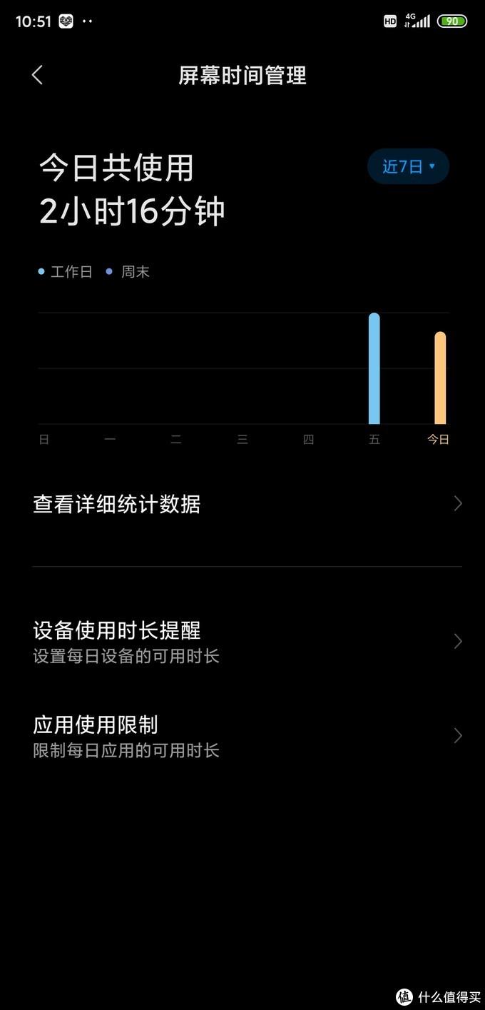 屏幕时间统计