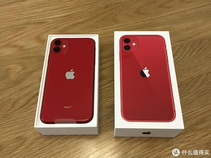 为等效13mm镜头而买的iPhone 11   首晒开箱 红色版