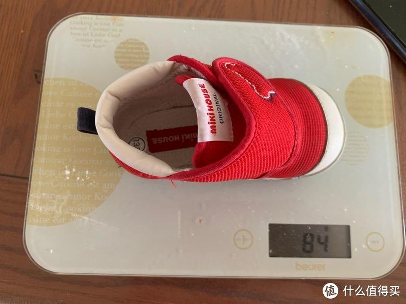 asics suku2 童鞋和mikihouse一段粗略对比