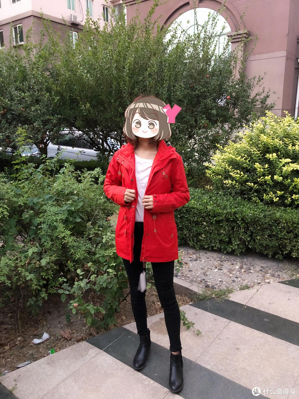 冲锋衣也可以很时尚——Lonsdale龙狮戴尔女士中长款冲锋衣评测