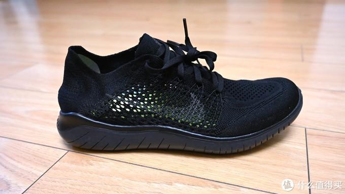 无法抵抗的全黑跑鞋 Nike Free RN Flyknit 2018 开箱晒单