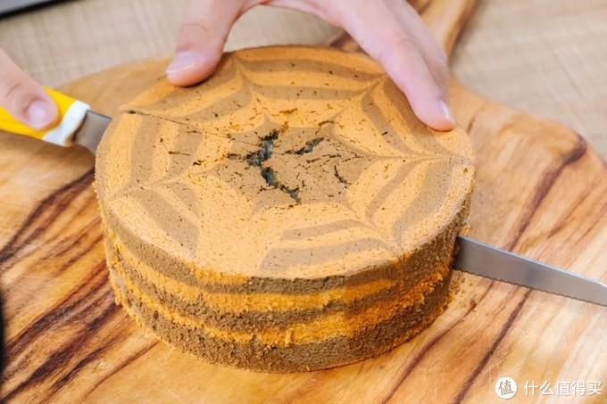 黑芝麻斑马戚风蛋糕自己做!秒杀外面一切网红