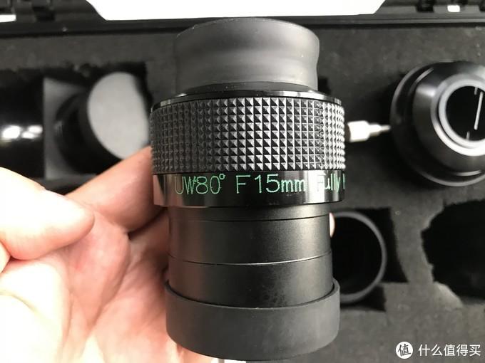 80度15mm目镜