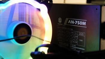 美商艾湃电竞AN-750M使用体验(走线|噪音|风扇|功耗|价格)