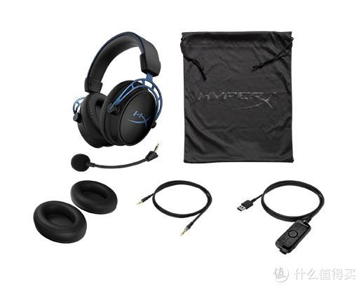 50mm双音腔、7.1环绕:HyperX Cloud Alpha S 阿尔法加强版 游戏耳机 正式开售