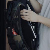 OGIO 时尚双肩包使用体验(卷盖|隔层)