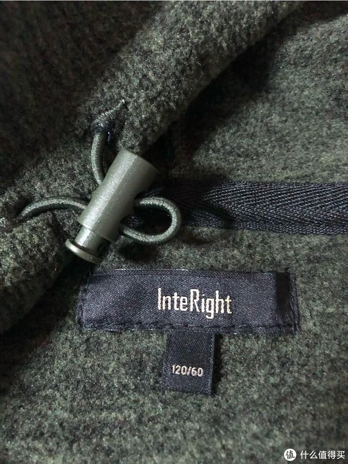 20多元的INTERIGHT休闲外套,值不值得买?