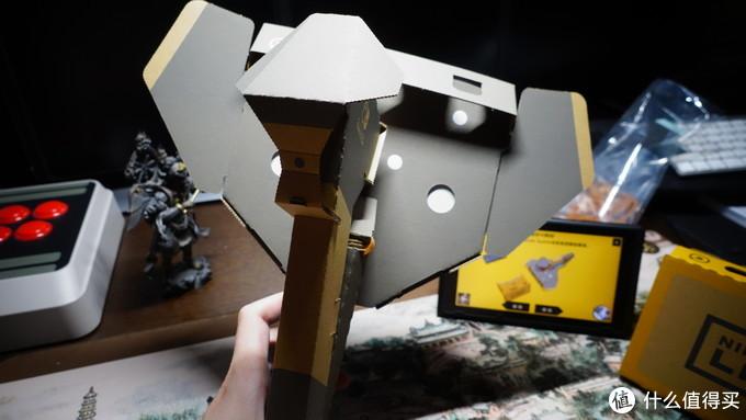 不拼手痒,拼完头痒:任天堂labo系列之VR套装开箱体验