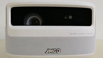 坚果J9普通投影机外观展示(旋钮|按键|接口|散热孔|芯片)
