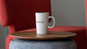 星巴克经典传承陶瓷马克杯外观展示(工艺 贴面 尺寸 质感 花纹)