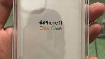 iPhone 11 官网透明保护壳外观展示(包装|垫缓冲|按键|接口|颜值)