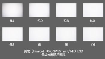 腾龙SP 35mm F/1.4 Di USD使用体验(成像锐度|对焦|做工|手感|画面亮度)