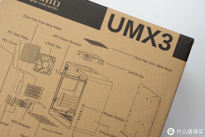 经典紧凑型全铝镁材质机箱,散热与设计一样都少不了:乔思伯UMX3
