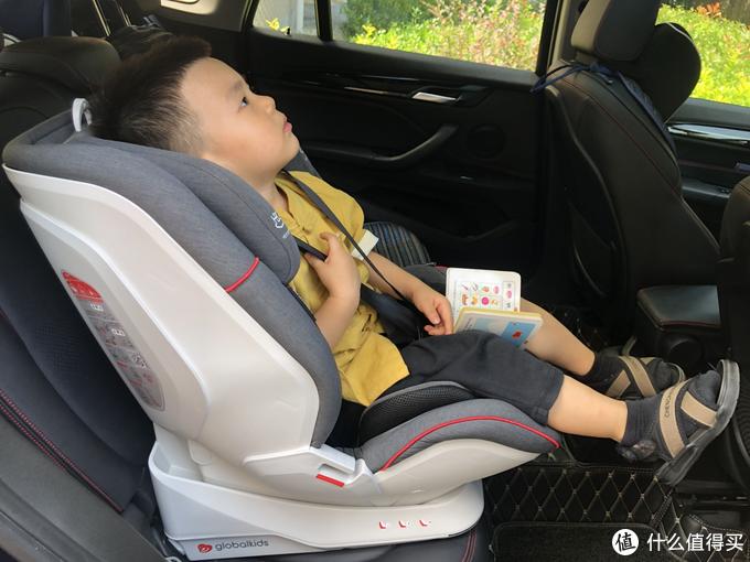 座椅头枕对小孩头部的包裹程度