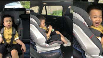 阿波罗智能儿童安全座椅使用体验(外观 透气性 包裹性 支撑性 抓地性)