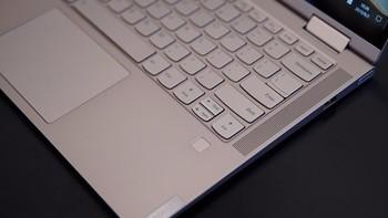 联想Yoga C740笔记本电脑外观展示(键盘|屏幕|边框|材质|散热口)