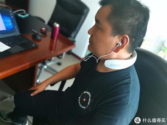 音乐理疗两不误,机械师音乐颈部按摩仪MN500体验