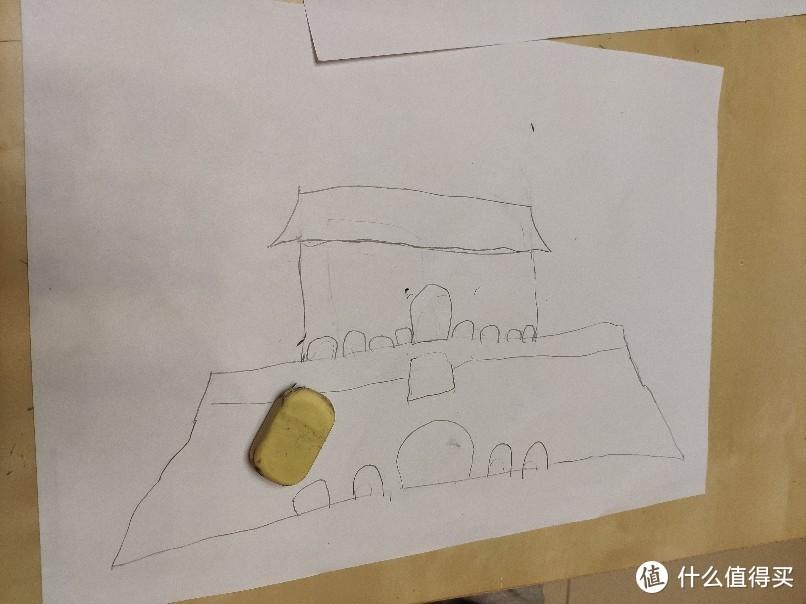 零基础,家长也能带着宝宝学画画~学画天安门(我给祖国的生日礼物)