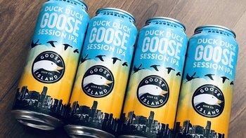 酒不能停—Goose Island 鹅岛~嘎嘎鹅啤酒饮用体验!