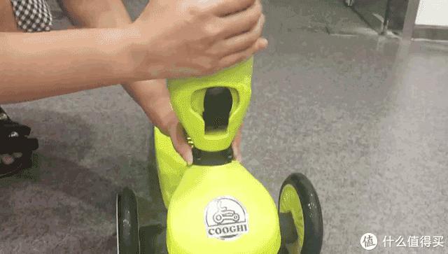 米高之外孩子值得买给孩子的第一辆儿童滑板车,COOGHI酷骑酷炫版
