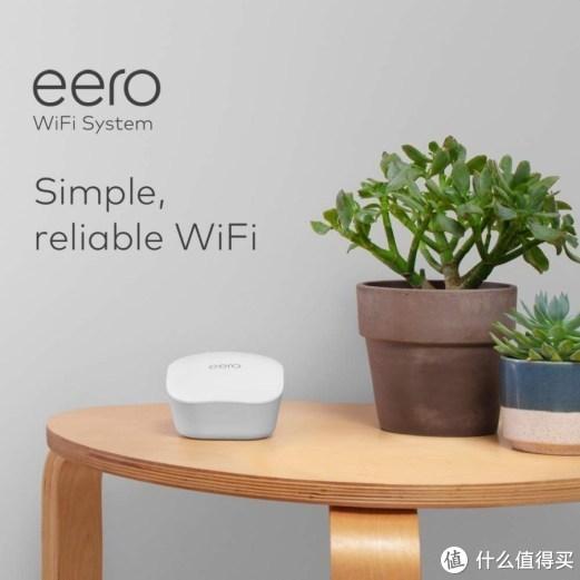 可覆盖465㎡、无感切换:Amazon 亚马逊 发布 Eero Mesh WiFi 无线网状系统