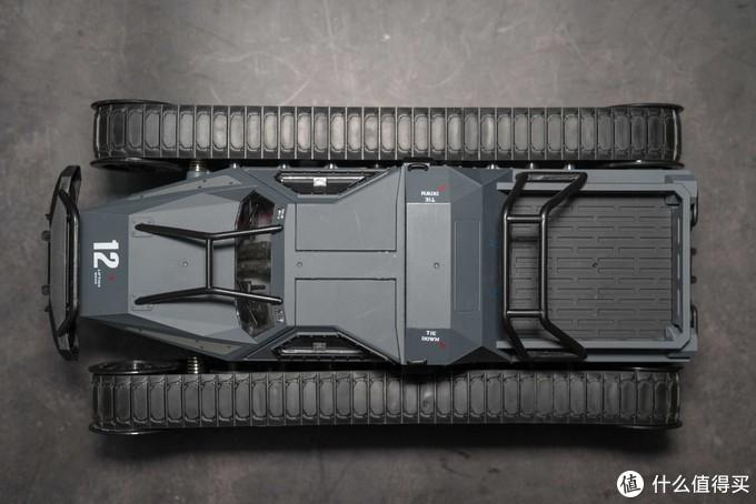 速度与激情8 EV2 Ripsaw Tank 粗锯齿 1/16遥控履带车