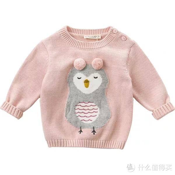 2019春秋冬毛衣合辑02 - 女婴童 - 粉色系