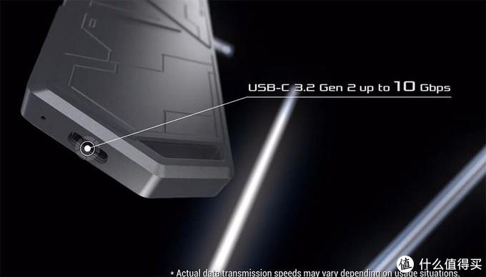 支持USB3.2 Gen.2,1250MB/s:ASUS 华硕 发布 ROG Strix Arion 移动固态硬盘盒