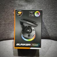 骨伽 Bunker RGB 鼠标线夹图片展示(包装|USB 口|线夹)