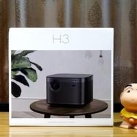 极米H3投影机图片展示(电池|机身|散热孔)
