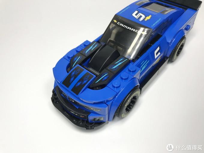 乐高 超级赛车 75891 雪佛兰卡罗ZL1赛车